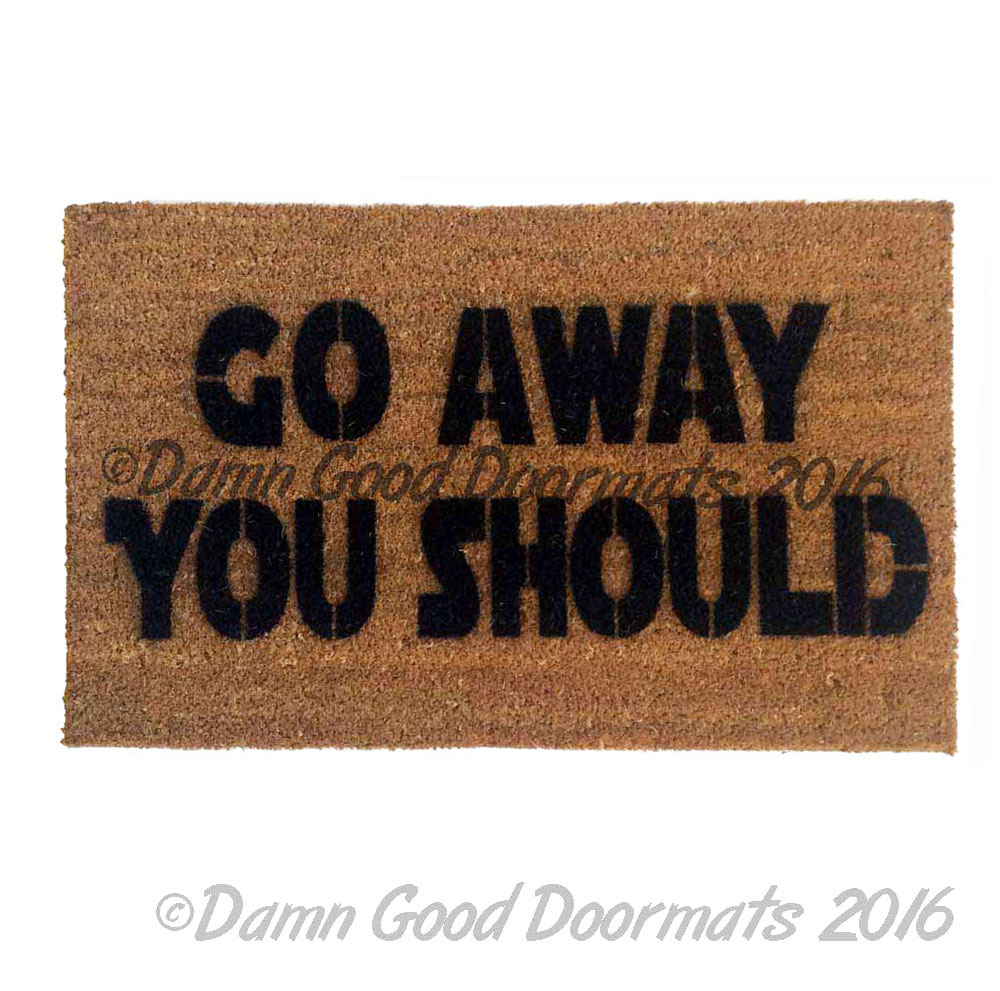 Welcome You Are Scifi Doormat Damn Good Doormats