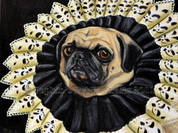 Perogi, Queen of Pugs