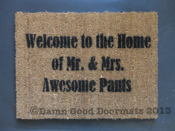 Mr And Mrs Rude Questions: Welcome To The Home Of Some Seriously Awesome Dudes