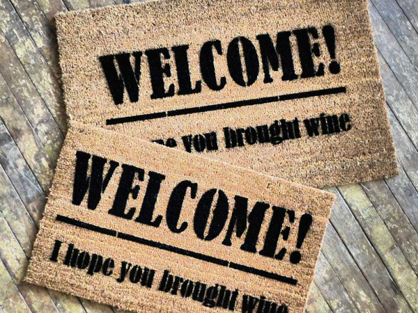 WELCOME! I hope you brought wine.