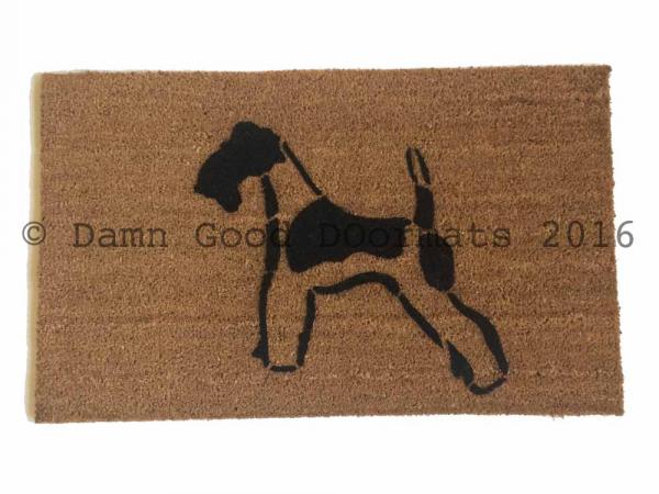 Wire Terrier doormat