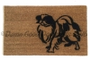japanese chin dog doormat