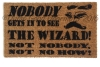 here's no place like home- Wizard of OZ doormat