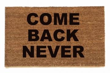 Rude unwelcome mats damn good doormats - Offensive doormats ...
