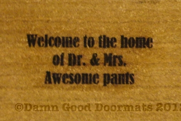 Welcome to the home of Dr. & Mrs. / Mr. & Dr, Mr. & Ms, Mr. & Mr.- Awesome pants