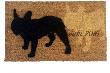2 Frenchie's Doormat