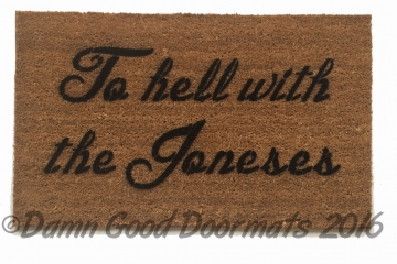 Damn good doormats art you can wipe your feet on from geek to chic - Offensive doormats ...