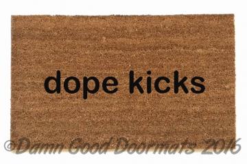 dope kicks doormat