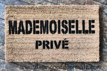 Chanel Mademoiselle PRIVÉ doormat