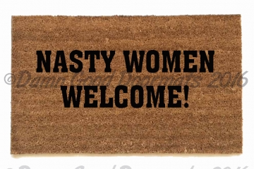 Nasty Women Welcome HRC President Hillary  doormat