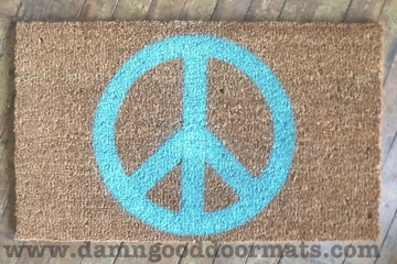 Hippy PEACE sign