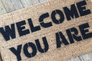 Damn Good Doormats Art You Can Wipe Your Feet On