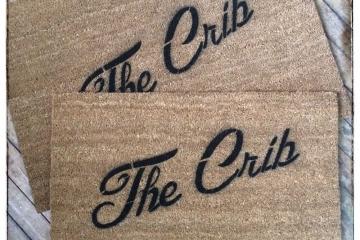 The Crib™ entrance doormat