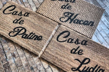 Custom name Casa de _______ Spanish doormat