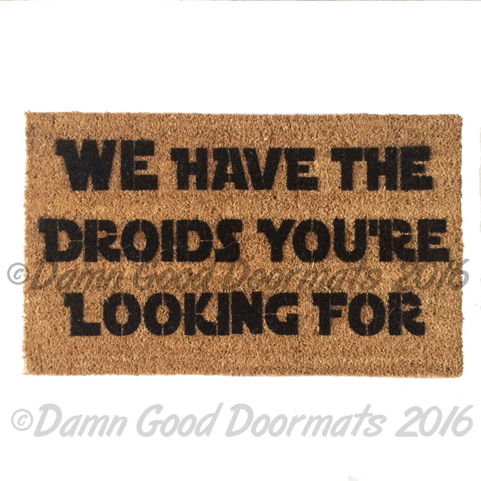 Rude go away you should funny modern doormat damn good doormats - Geeky doormats ...