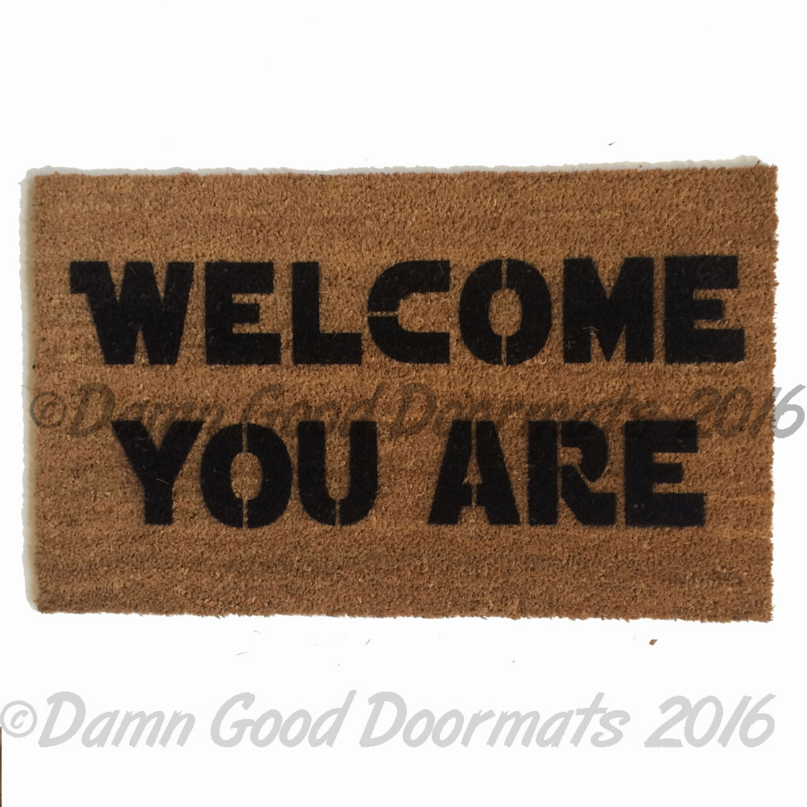 Welcome you are scifi doormat damn good doormats - Geeky doormats ...