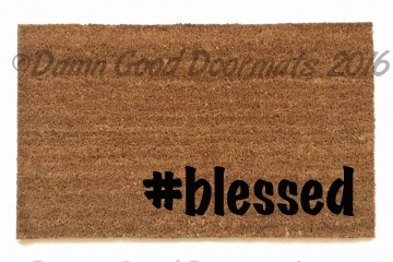 #blessed hashtag