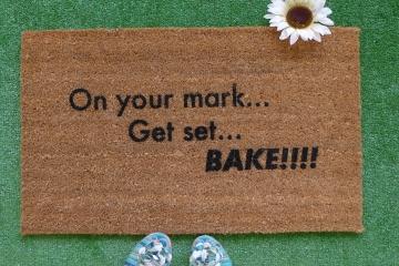 On your mark , Set, bake!