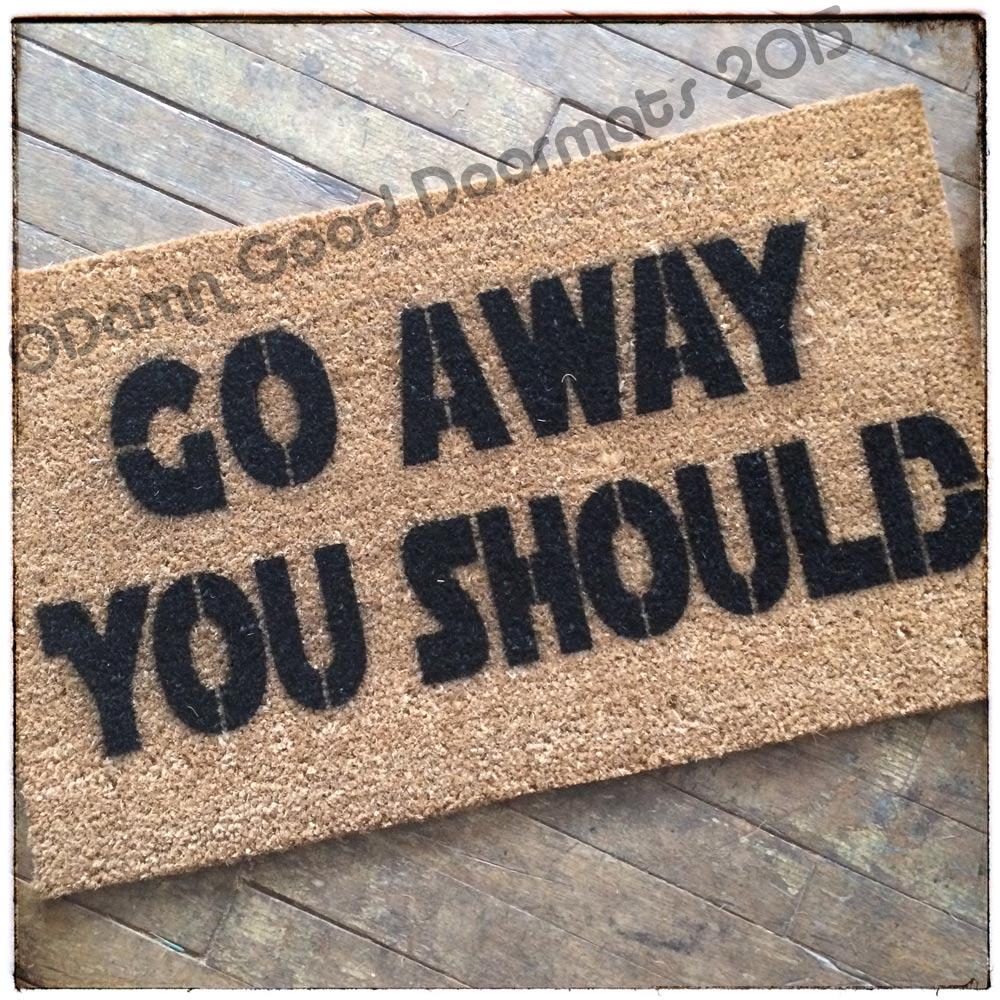 Blog entry damn good doormats - Offensive doormats ...