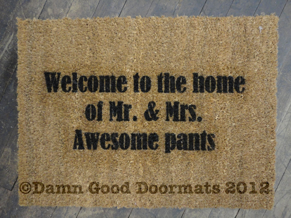 Top Doormats Of 2012 Damn Good Doormats