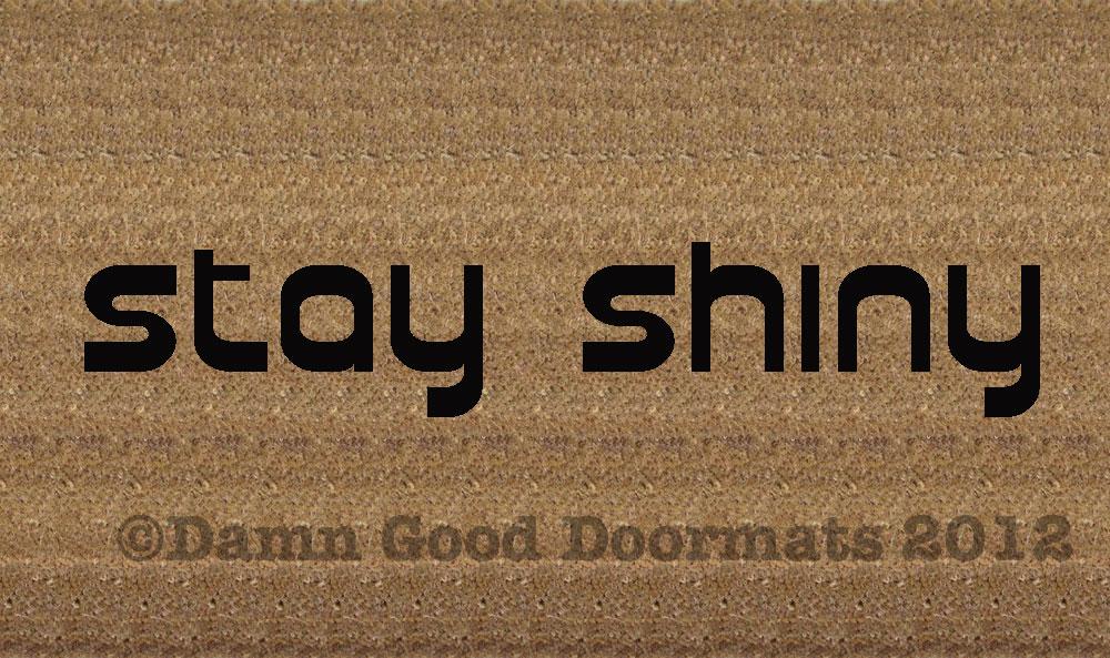 Geek alert damn good doormats - Geeky doormats ...