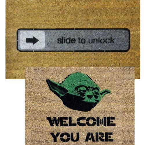 Door mat damn good doormats - Geeky welcome mats ...