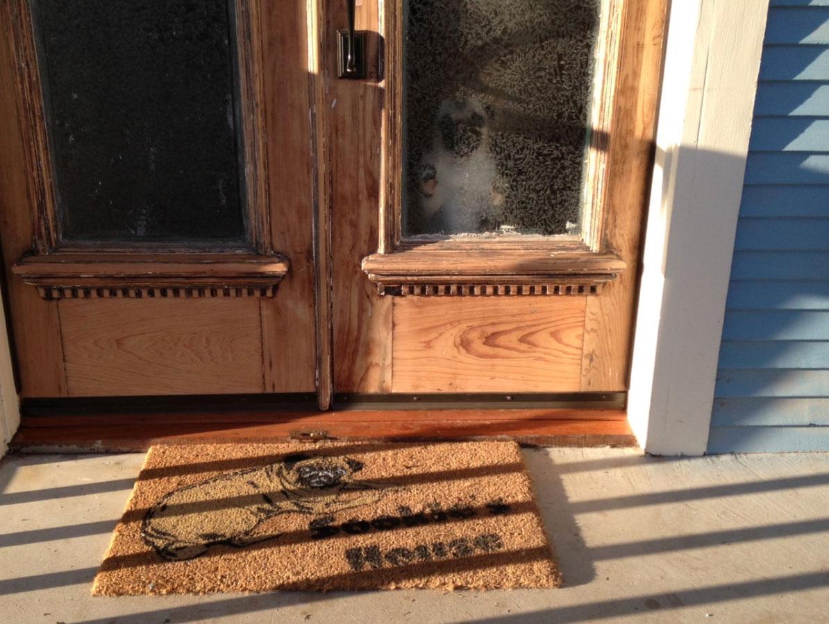 Blog Entry Damn Good Doormats